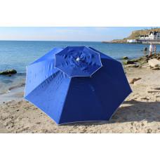 Большой зонт для бассейна, кафе, дачи 3м 8спиц усиленный