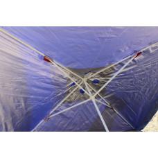 Большой квадратный торговый зонт 3 на 3 м для сада, пляжа, рынка