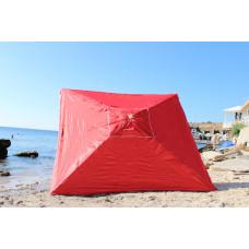 Зонт для торговли на рынок 2на3м красный квадратный