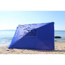 Зонт квадратный большой на базар или дачу 3м на 3м синий