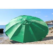 Большой зонт 3,5 м очень толстые спиц 12 для сада, пляжа, торговли